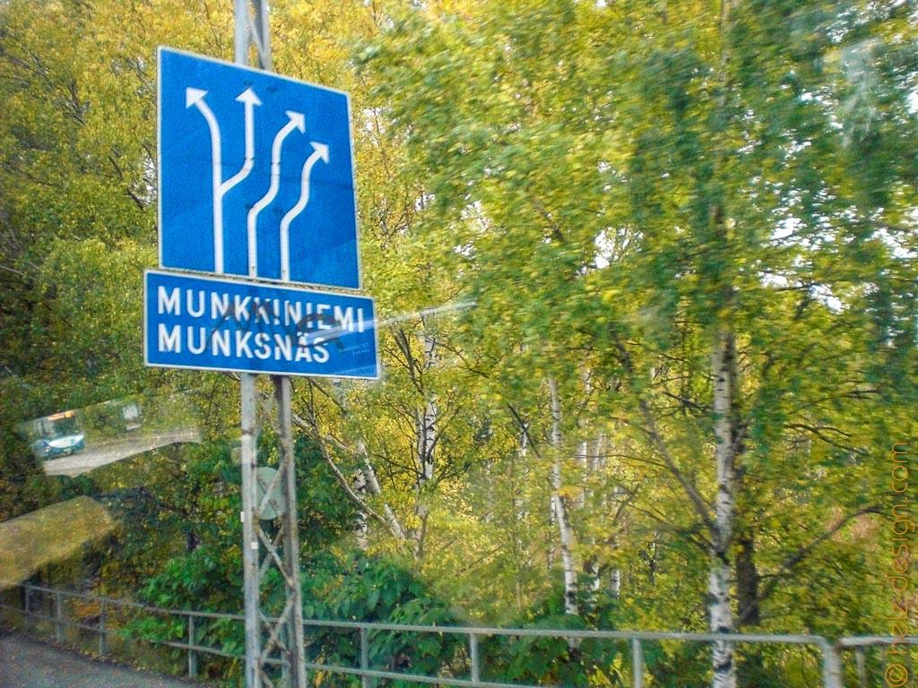 Richtung Munkkiniemi