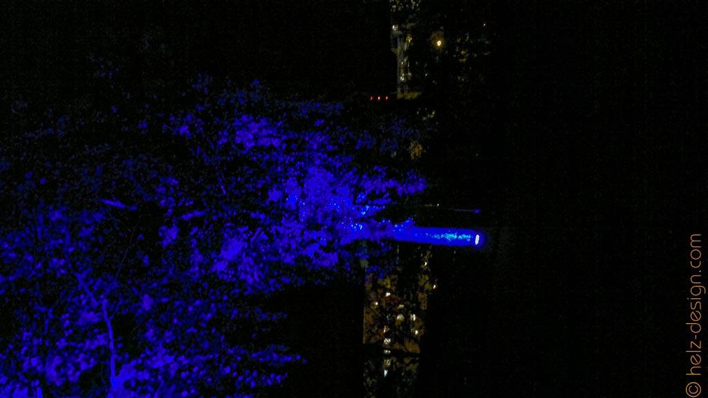 Farbrausch: blau