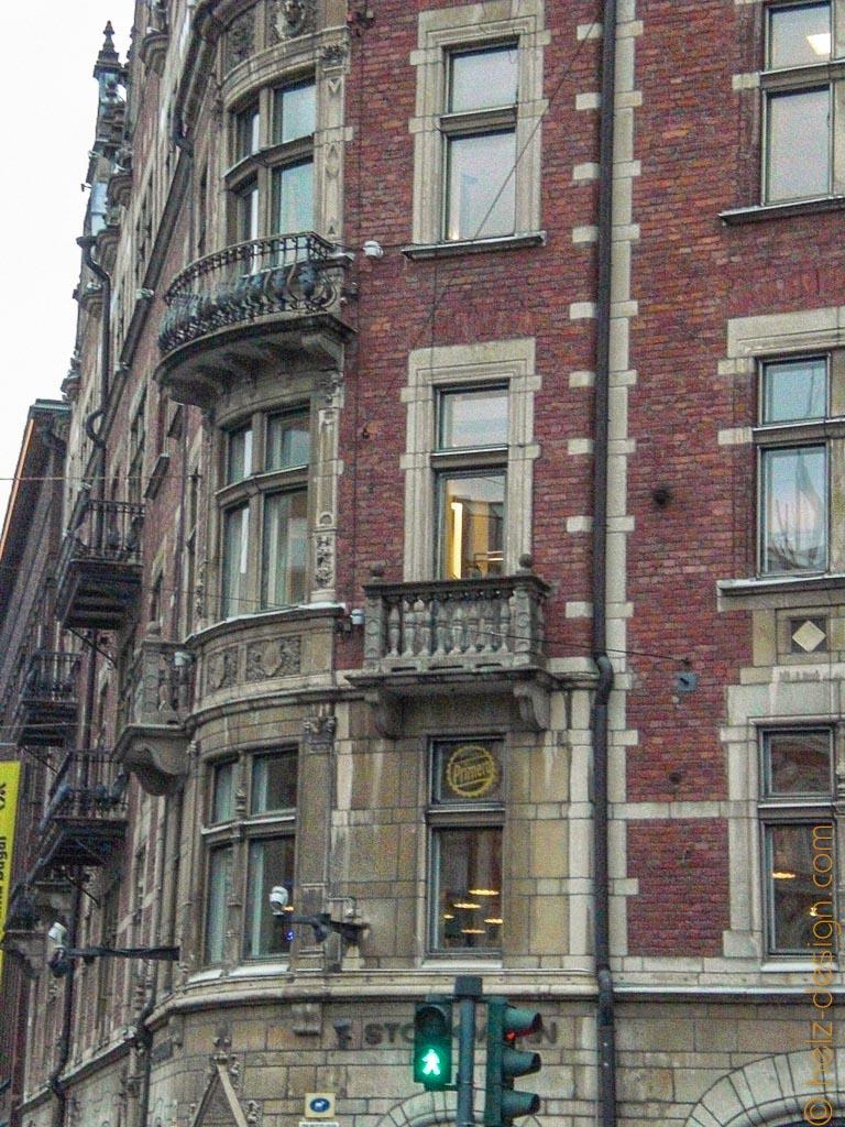 Details am alten Haus von Stockmann