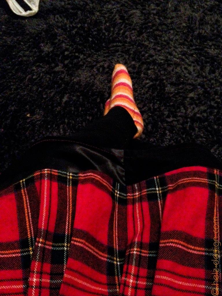 Dazu ein paar stylische Socken