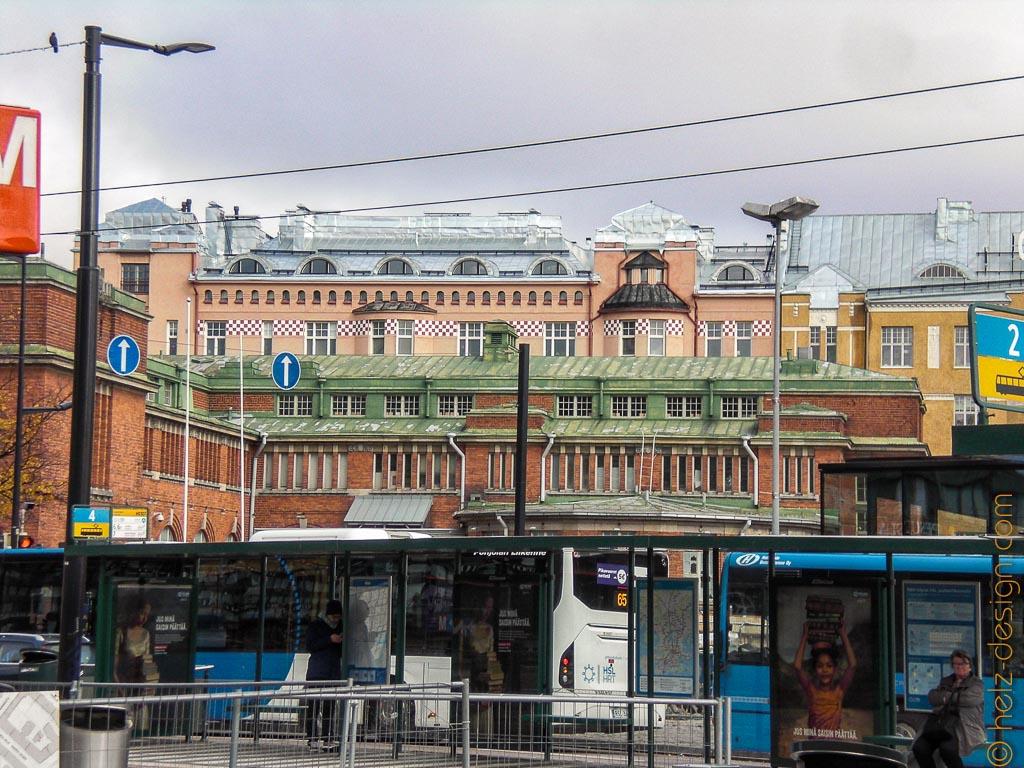 Hakaniemi und die Markthalle