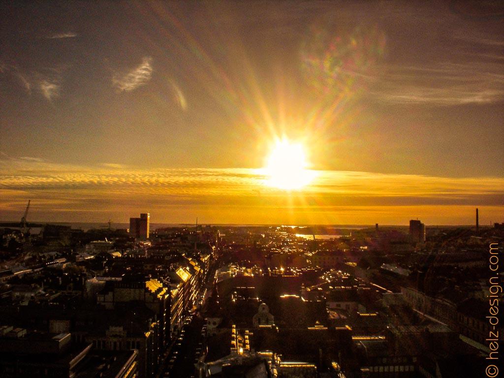 Gnadenlos toller Sonnenuntergang