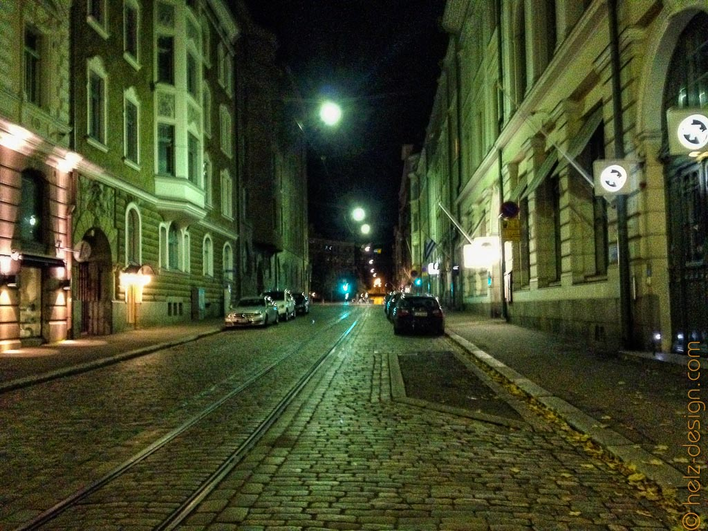 Menschenleere Straßen