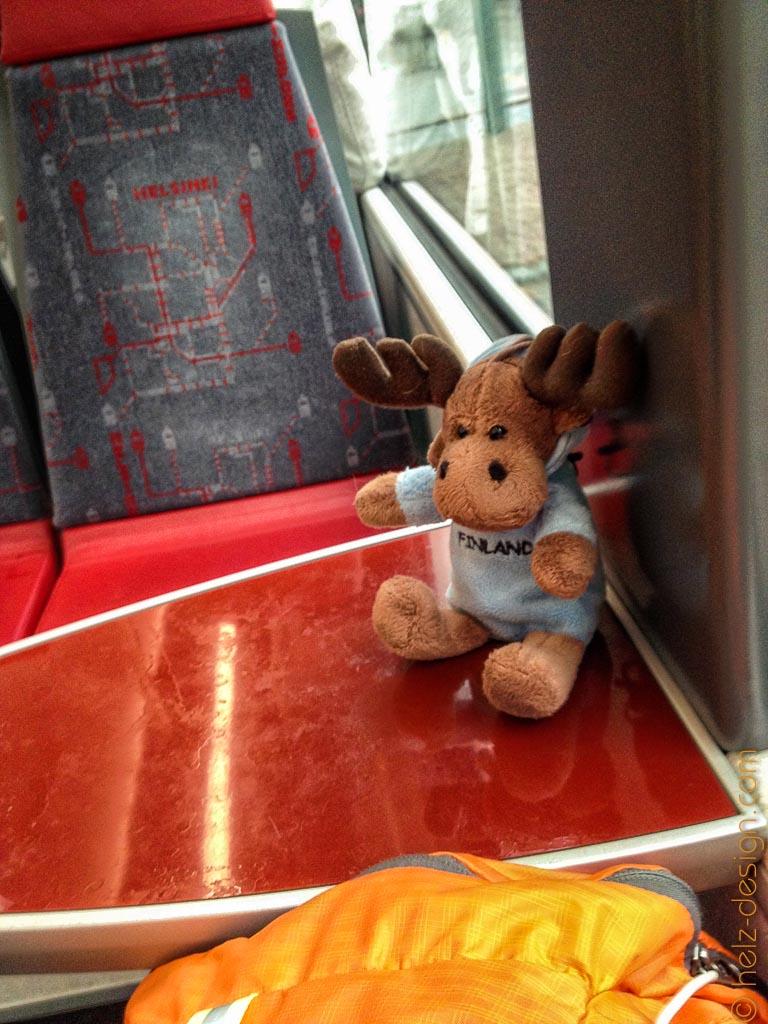Paavo in der Tram