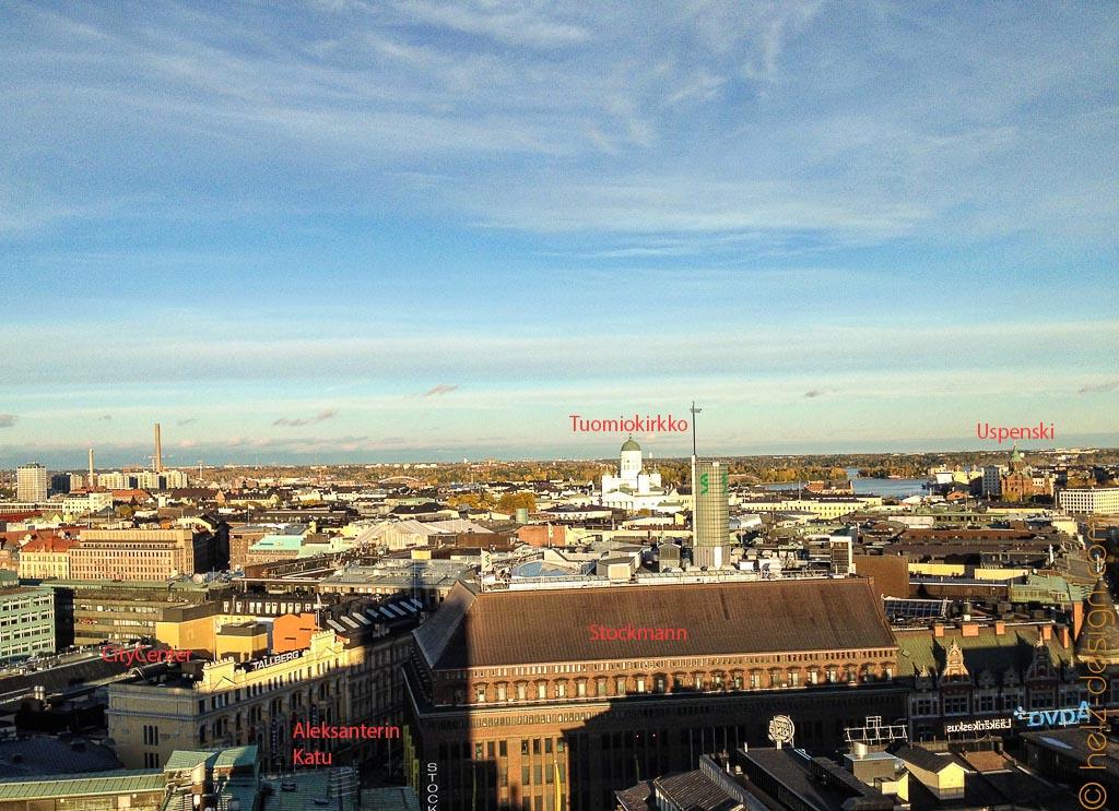 Aleksanterinkatu – Stockmann – Tuomiokirkko – Uspenski Katedraali