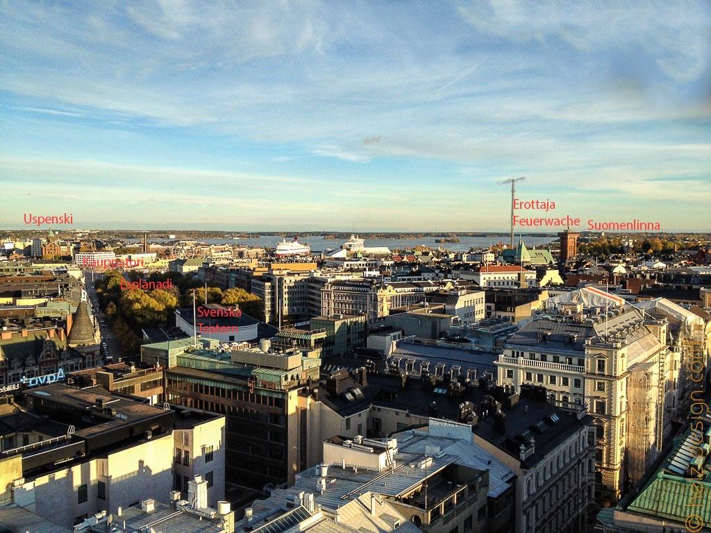 Uspenski – Esplanadi – Erottaja – Suomenlinna