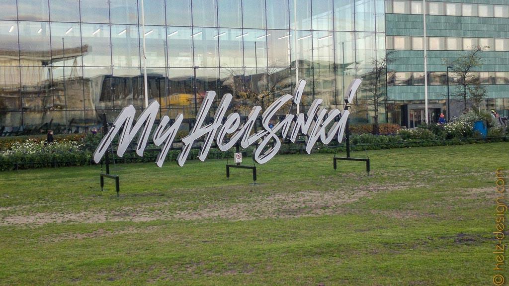 My Helsinki vor dem Musiikkitalo