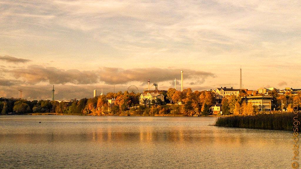 Töölönlahti – Pasilantori – Linnanmäki