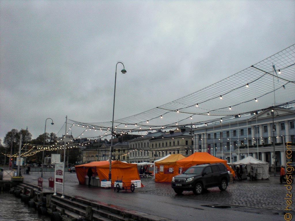 Kauppatori – Wettertrotzende Marktstände