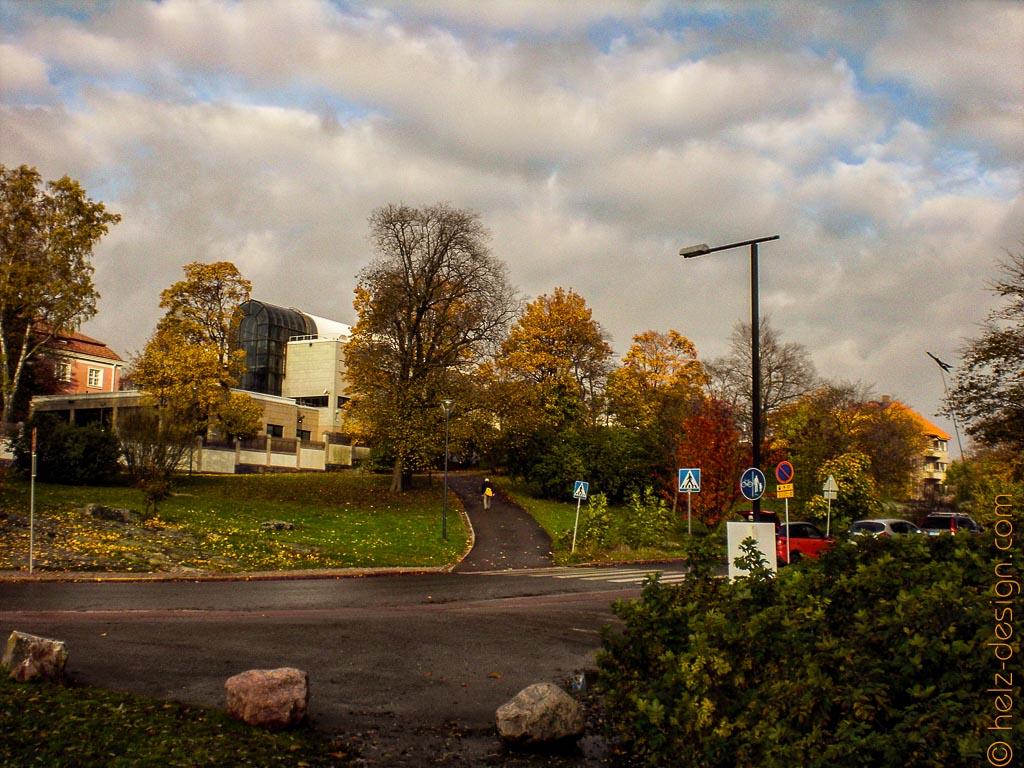 Blick zum Botschaftsviertel