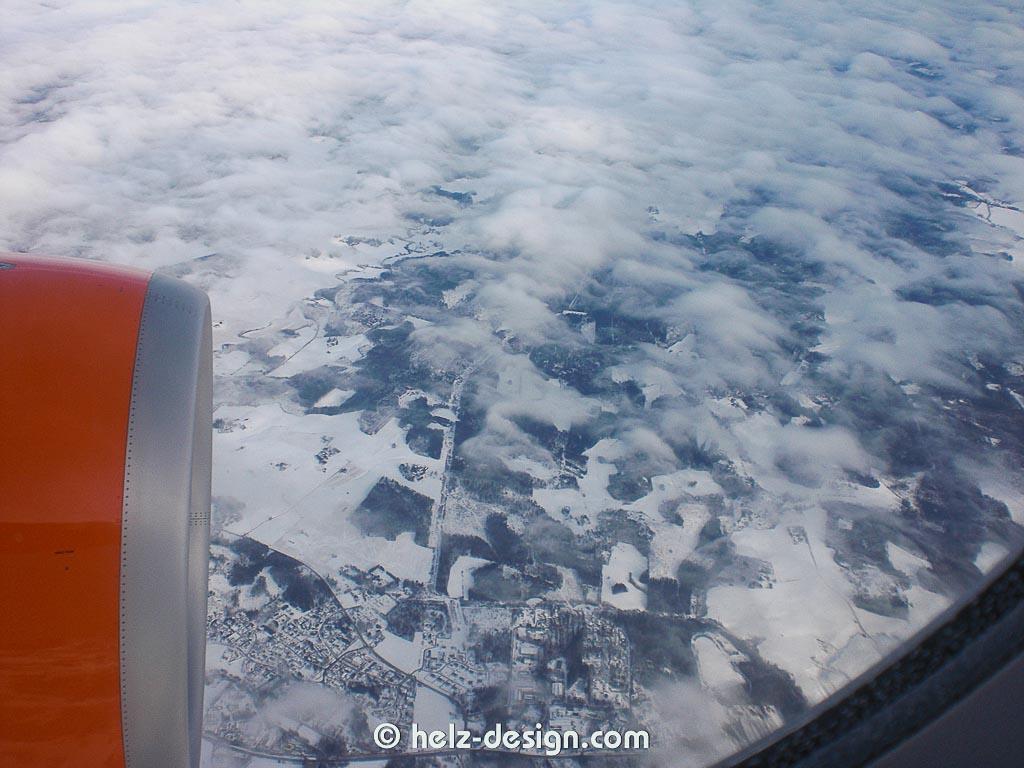 Landeanflug auf Winterwonderland aka das gelobte Land jenseits des 60. Breitengrades