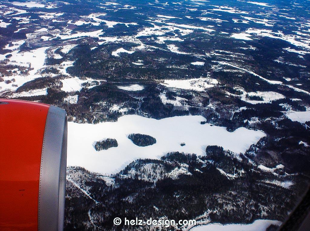 Finnland von oben