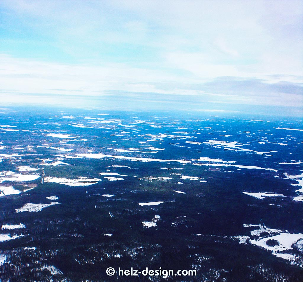 Wälder und Schnee