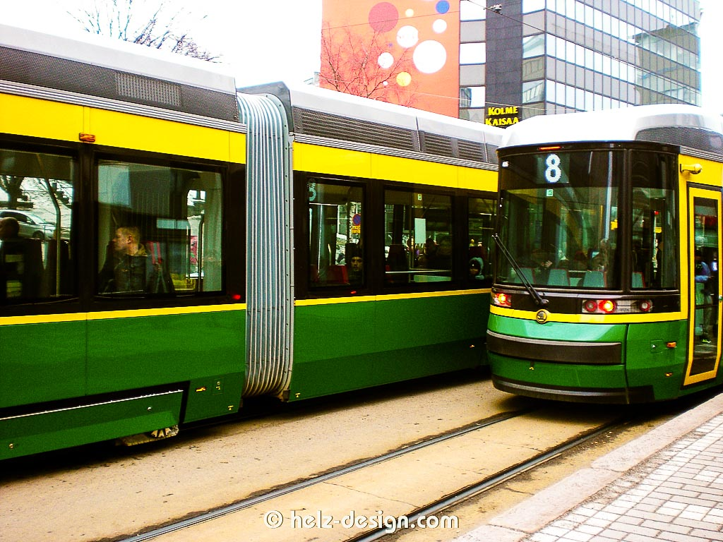 Trams in Sörnäinen