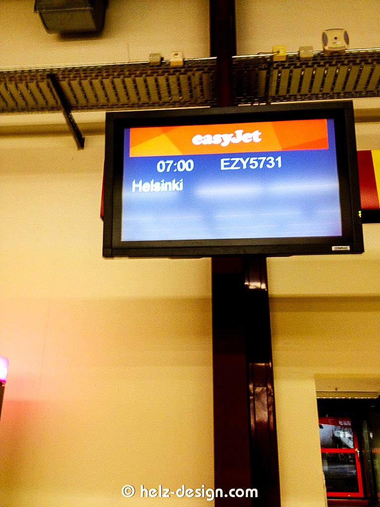 Next Stop Helsinki – 7:00 ab Tegel mit easyJet