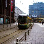 Tram in der Aleksanterinkatu