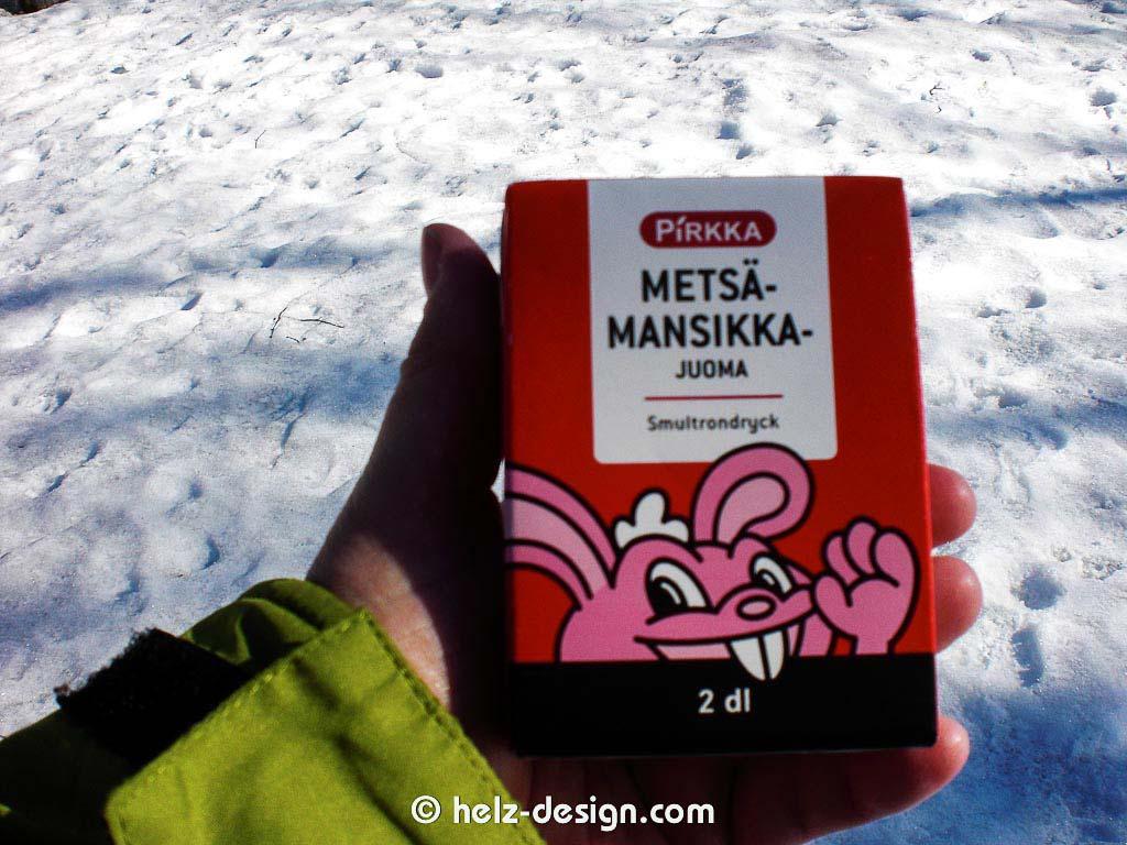 Metsä-Mansikka-Juoma – Walderdbeerengetränk – warum gibt es sowas nicht in D?