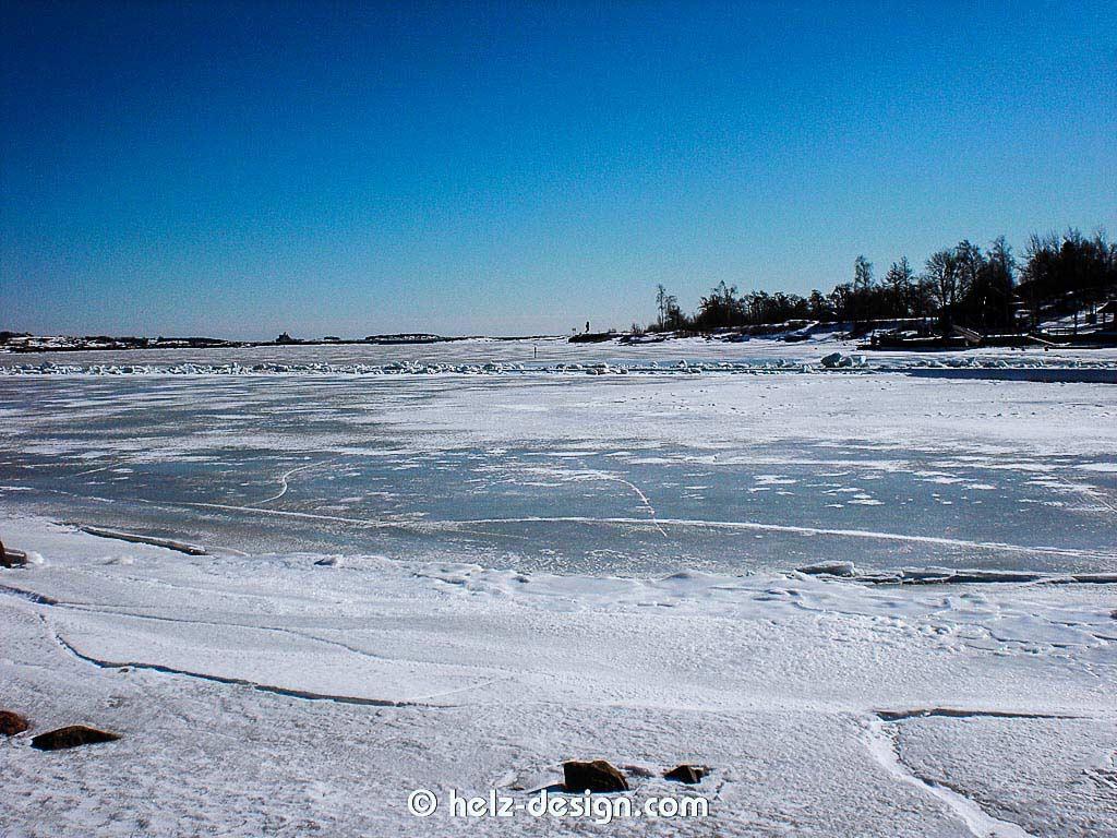 Eisige See