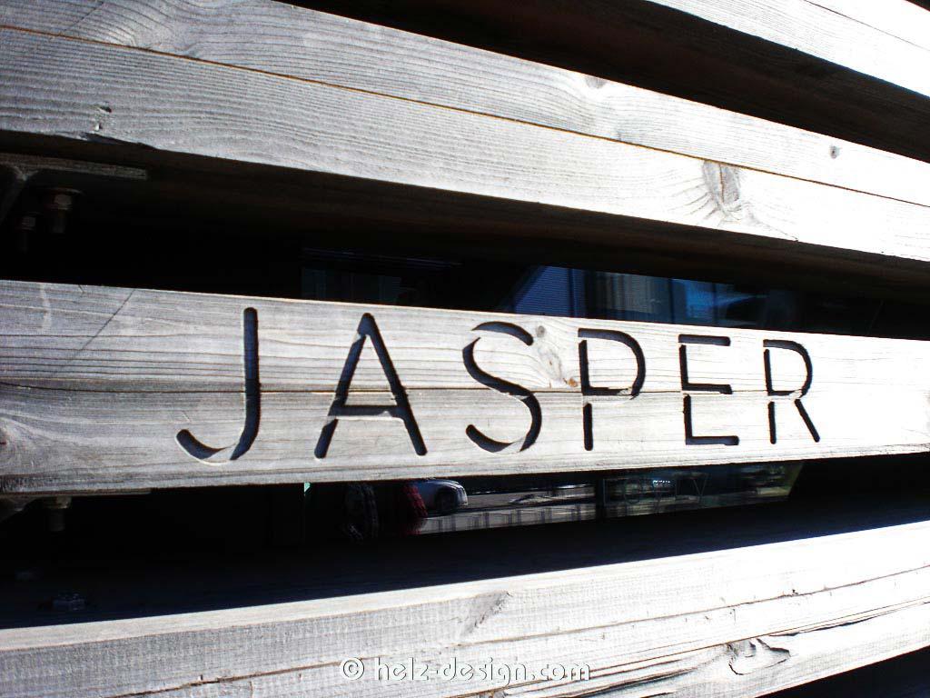 Ich würde gerne wissen, wer Jasper ist!