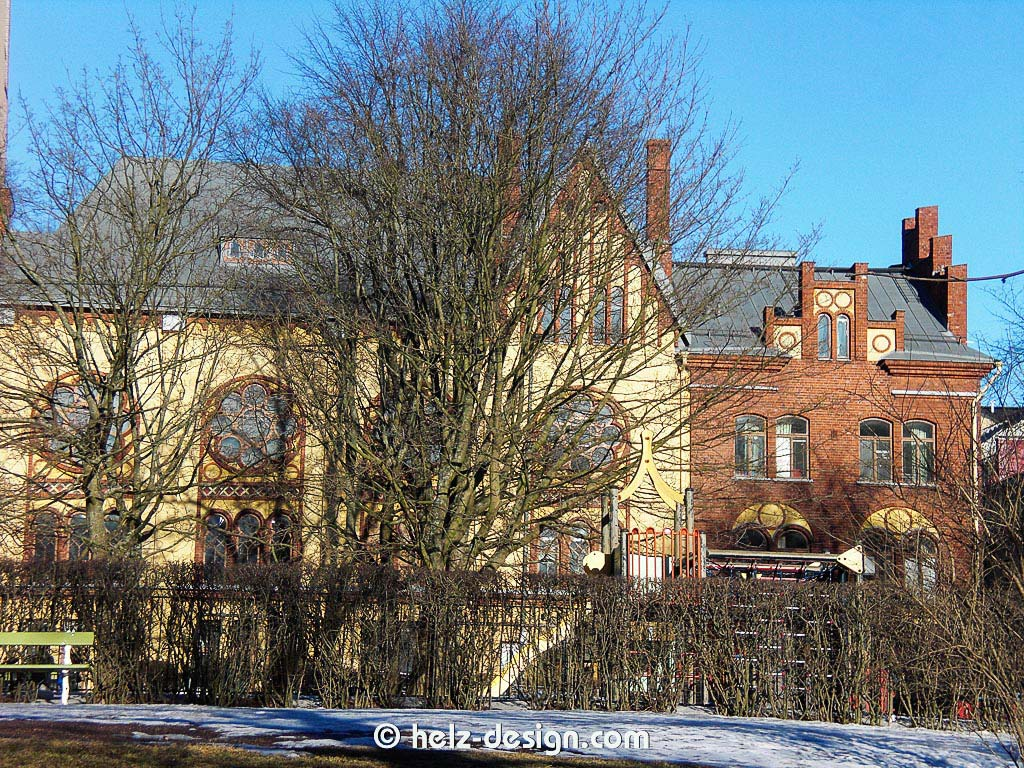 Punavuoren asukastalo Betania oder auch Gemeindezentrum