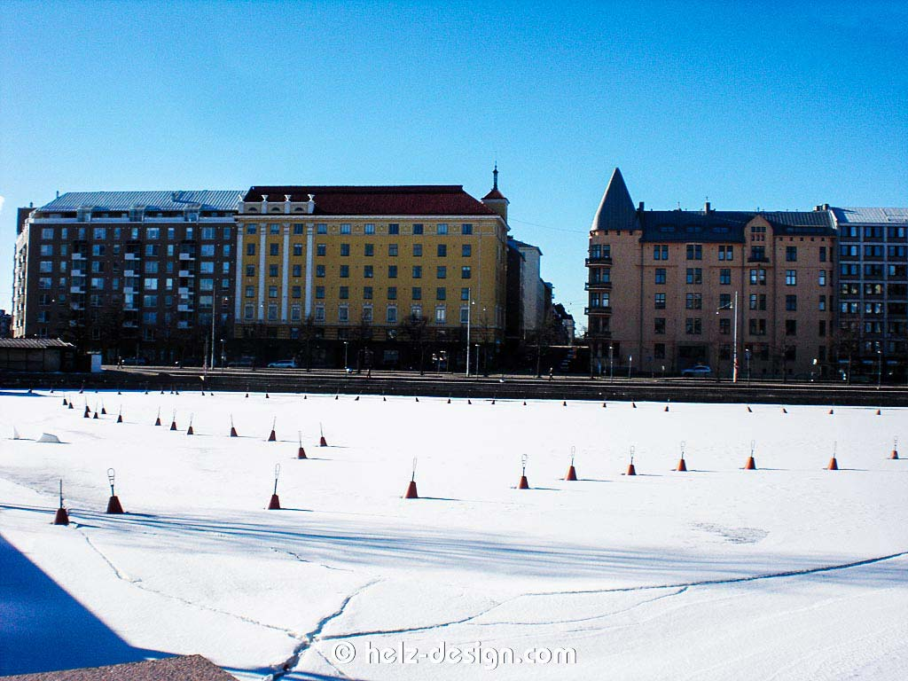 Hietalahdenlaituri mit Blick zum Hietalahdenranta