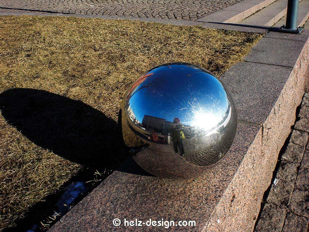 Kugel mit Spiegelung