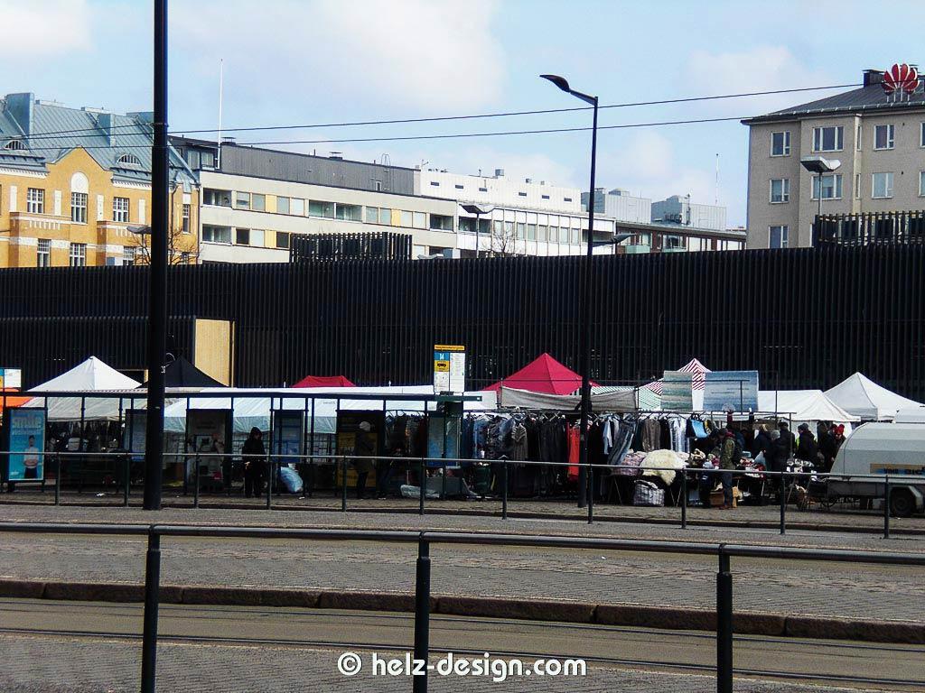 Marktstände am Hakaniemi