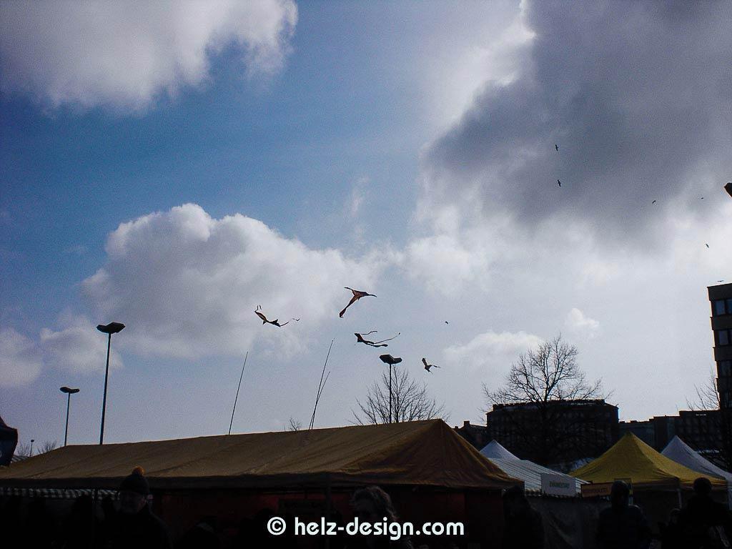 Drachen fliegen …
