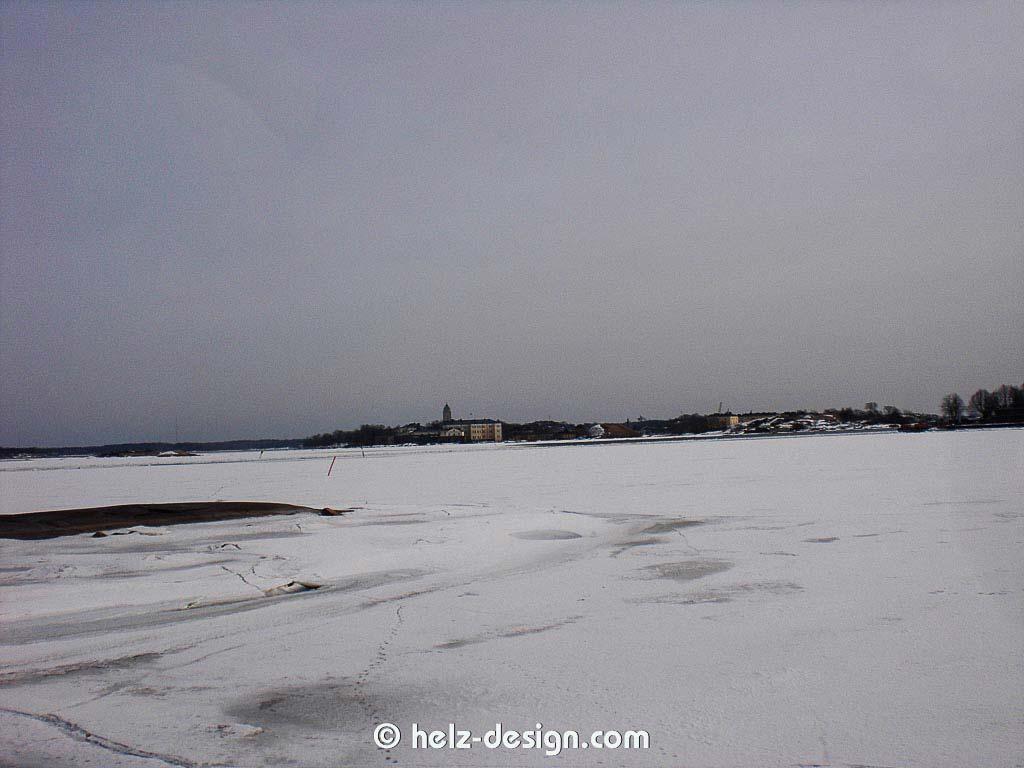 Ehrenströmintie –Blick zur Suomenlinna