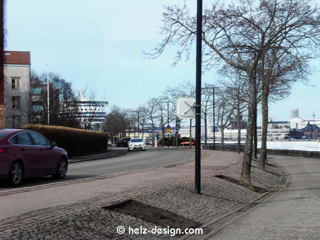 hier kann man das Fährschiff von SIlja Line am Olympiaterminaali sehen
