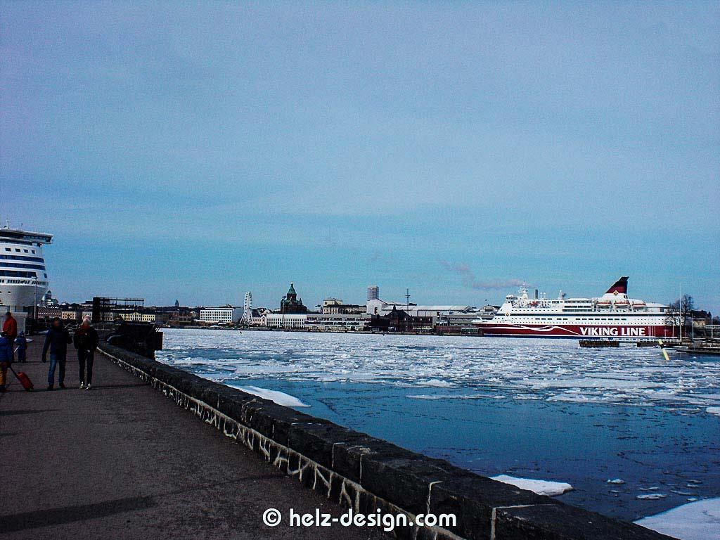 Silja line –Uspenski katedraali – Katajanokka –Viking line
