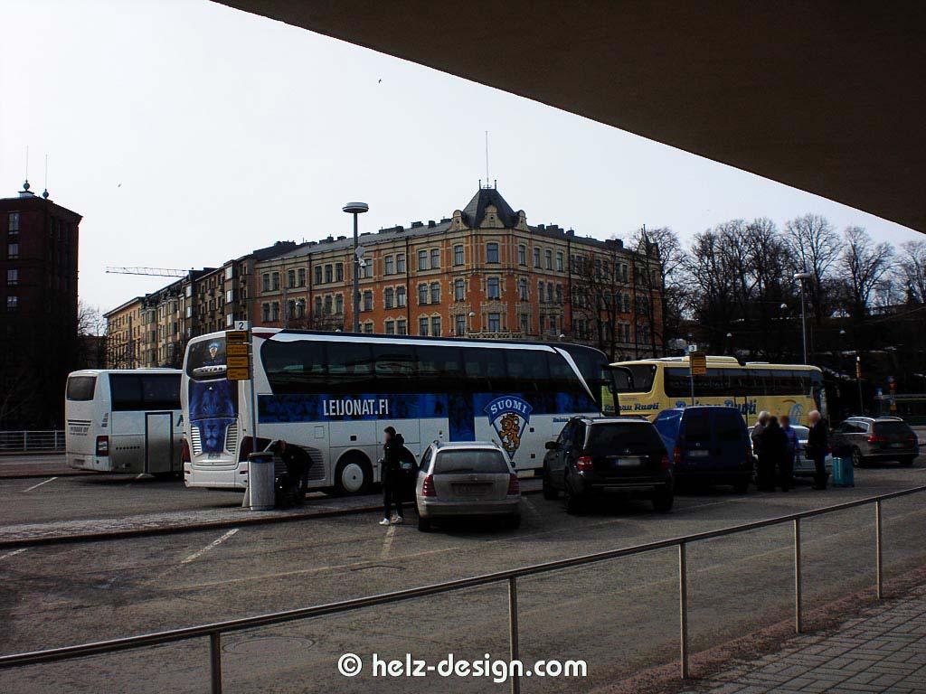 Bus der Leijonat, der finnischen Eishockeymanschaft