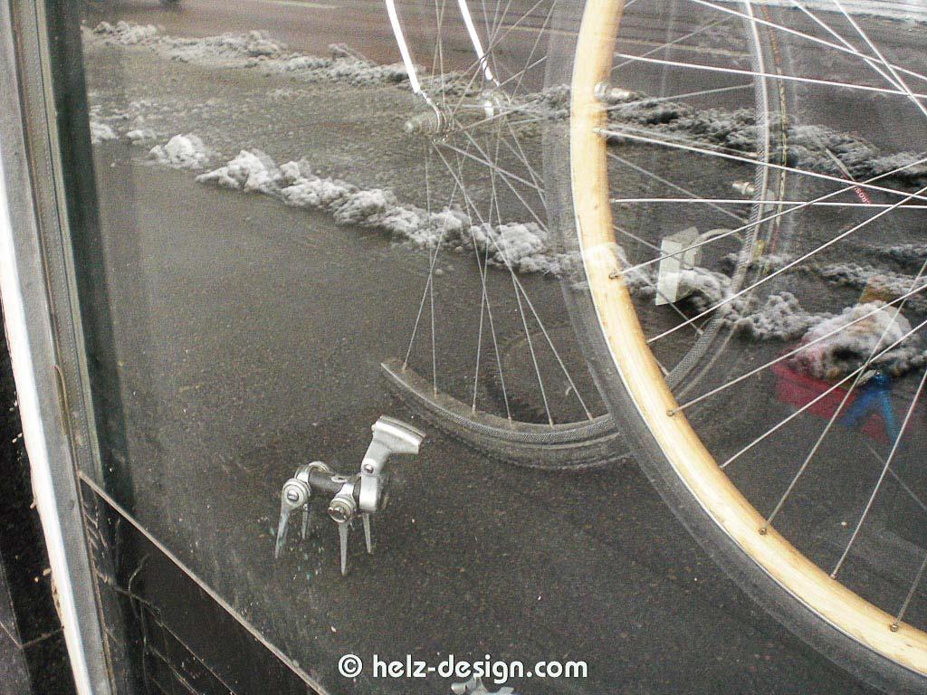 Kunst am Fahrrad