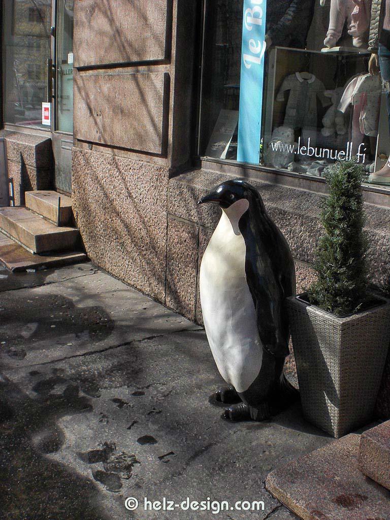 Es ist immer gut einen Pinguin zu haben.