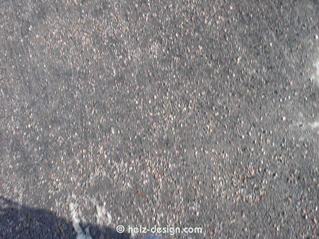 Ein Stück Straßenplaster
