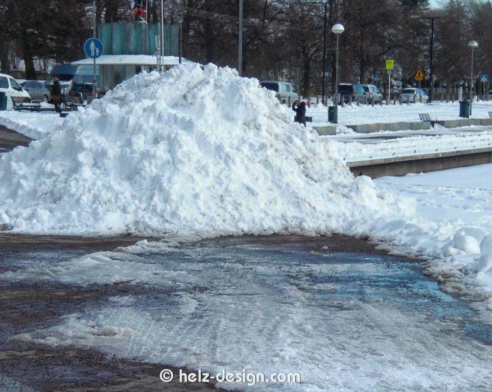 Merisatamaranta – Schneehalde