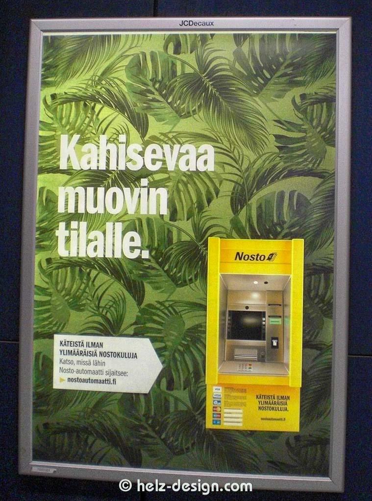 Kahisevaa muovin tilalle. …sorry kriege ich nicht so ganz übersetzt.