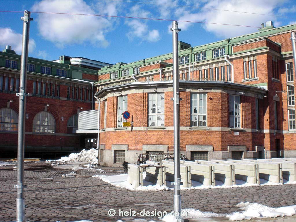 Hakaniemen Kauppahalli –Markthalle Hakaniemi