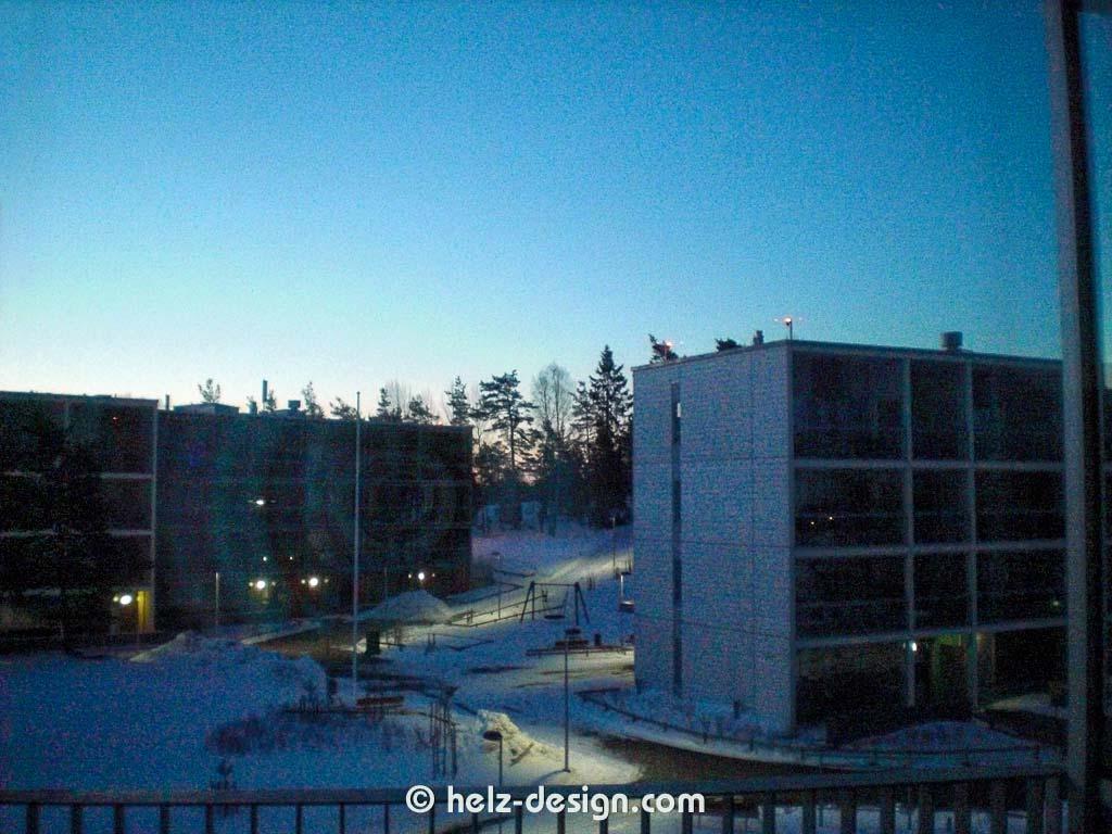 Es wird hell in Jakomäki