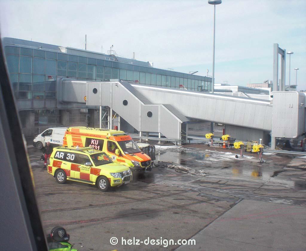 Autos am Flughafen