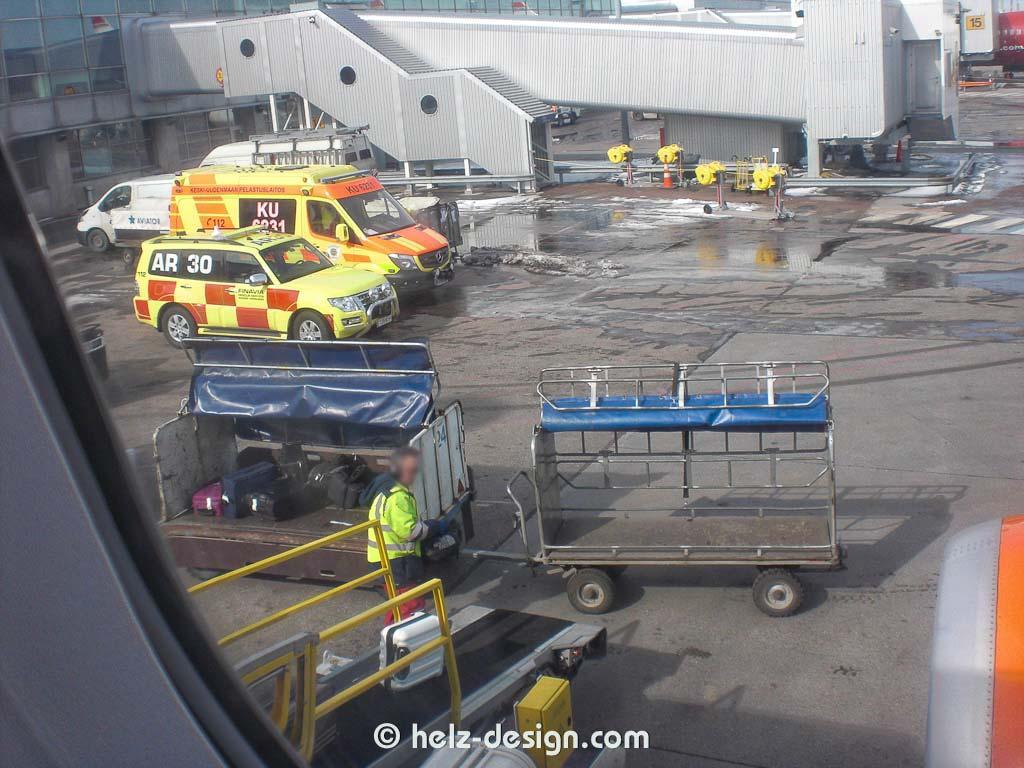 Koffer verladen