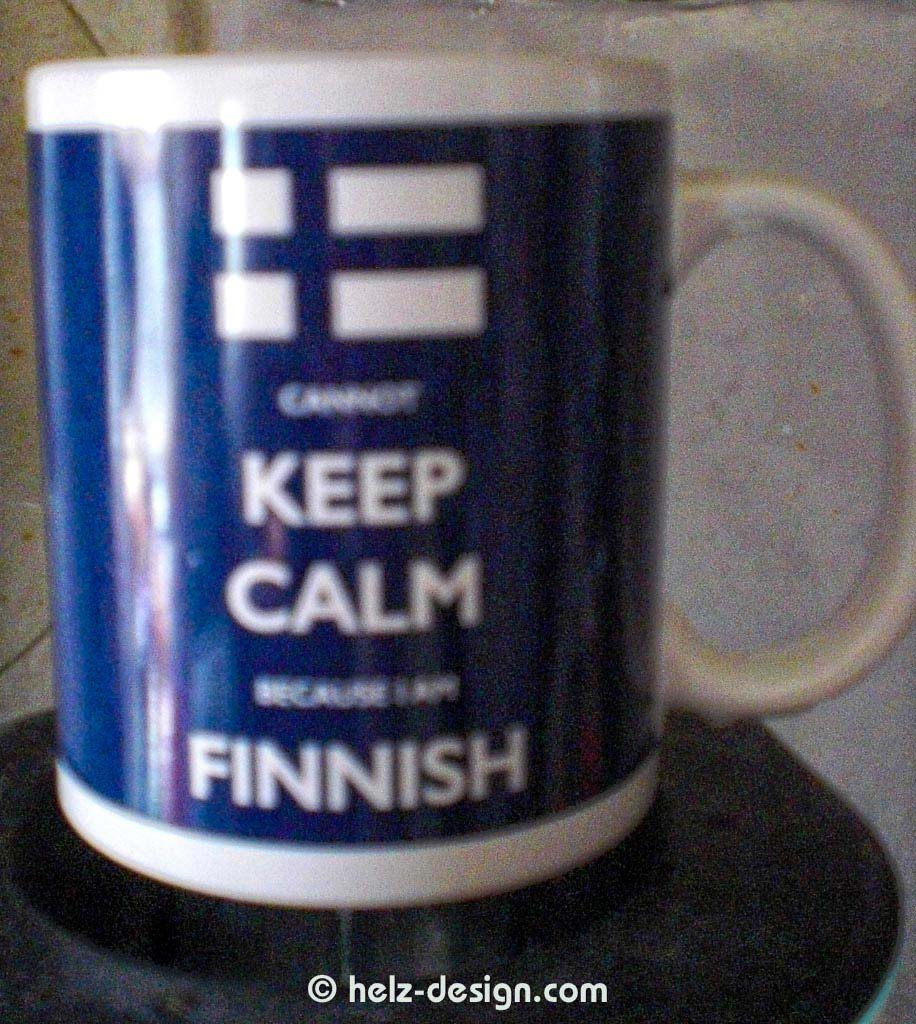 Keep Calm because I am Finnish