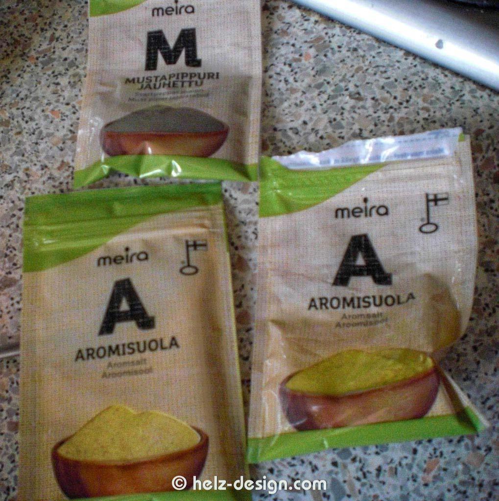 Pfeffer und Aromisuola –Aromasalz