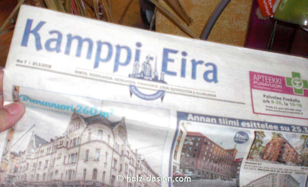 Wohnungen in Kamppi Eira