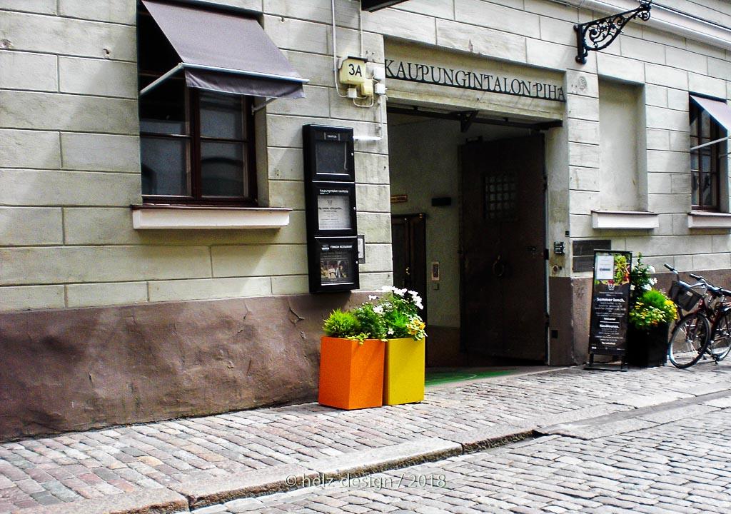 Sofiankatu –Eingang zu den Höfen des Rathauses
