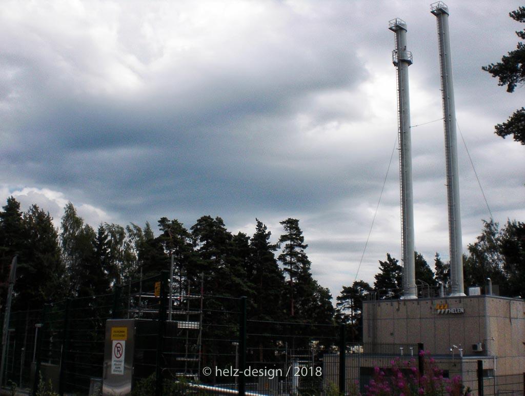 Kraftwerk in Jakomäki
