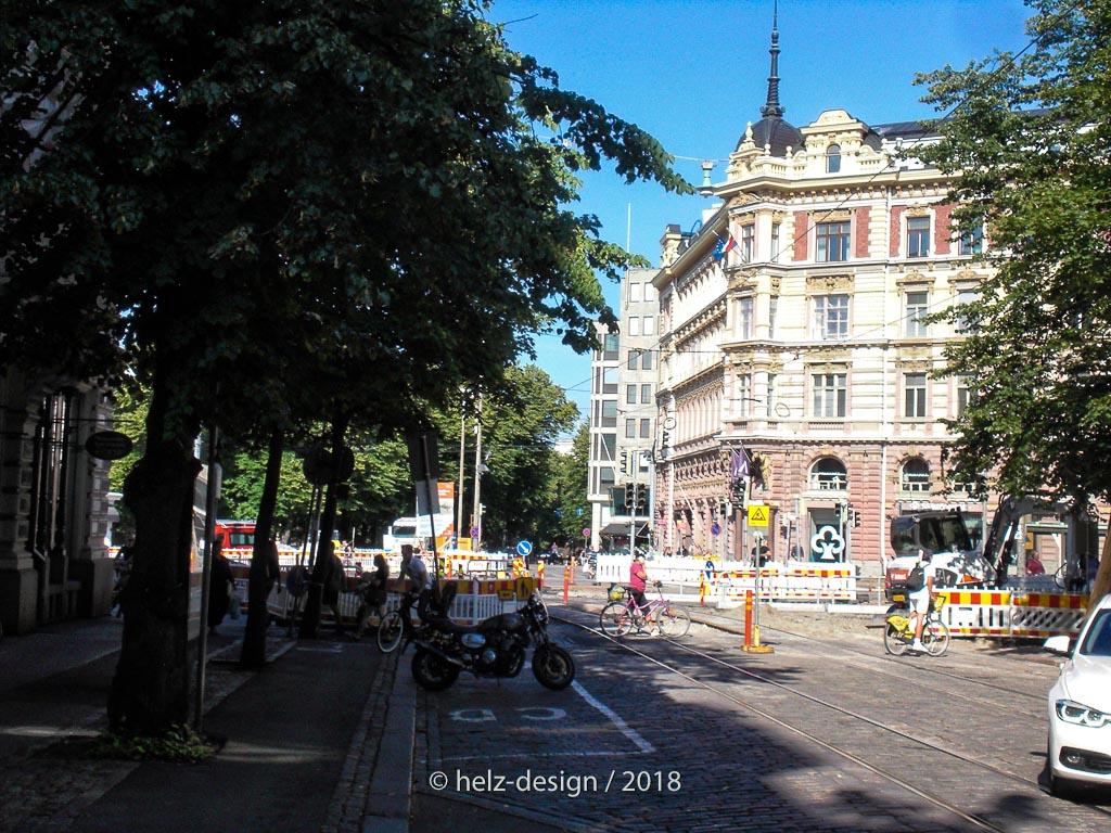 Baustelle Mannerheimintie / Bulevardi