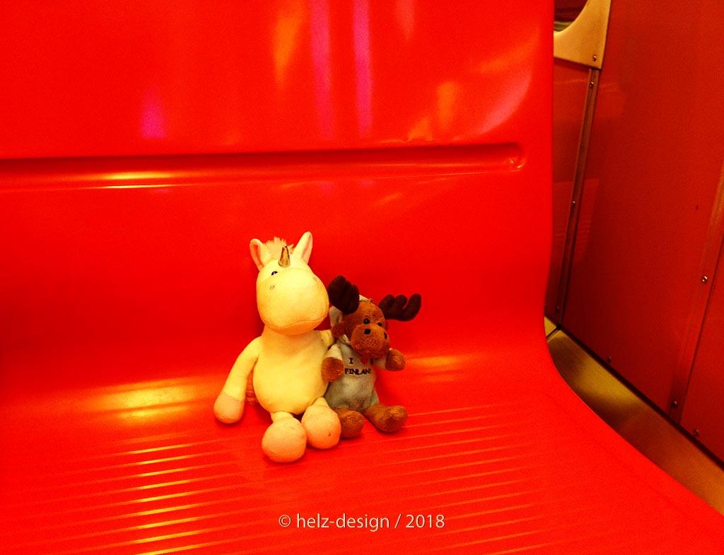 Ulf und Paavo fahren Metro