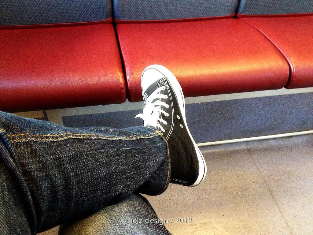 und hier ein Blick auf meine neuen Schuhe