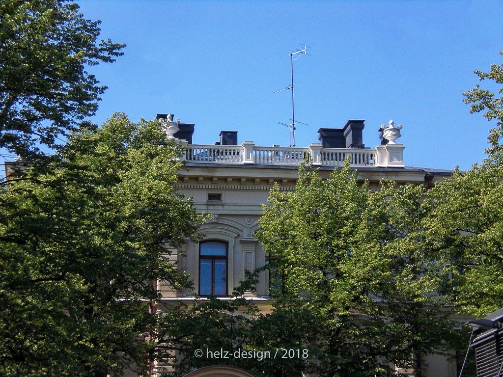 Ausblick auf das Obergeschoss von Bulevardi 29